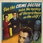 Nina Foch, Warner Baxter, Lester Matthews, Edward Norris, and George Zucco in Shadows in the Night (1944)