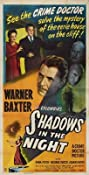 Shadows in the Night (1944) Poster
