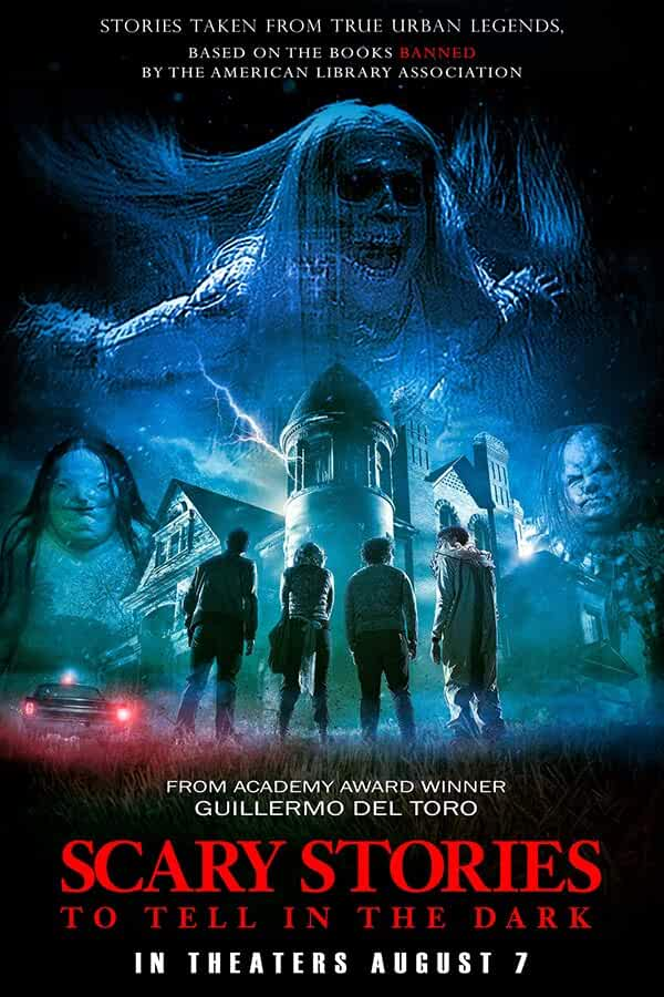 Scary Stories to Tell in the Dark (2019) 720p HDRip Hindi Dubbed  x264 AAC 800MB