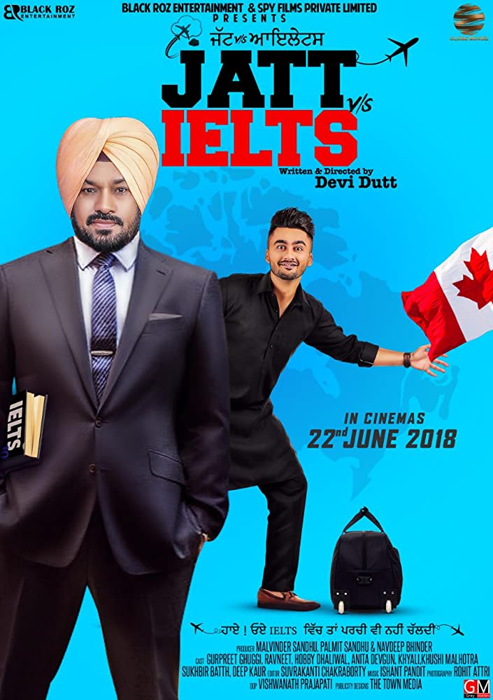 Jatt vs. Ielts (2018) Punjabi 720p HDRip x264 700MB