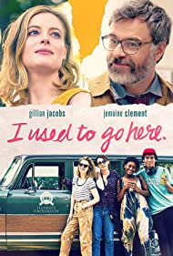 Jemaine Clement and Gillian Jacobs in I Used to Go Here (2020)