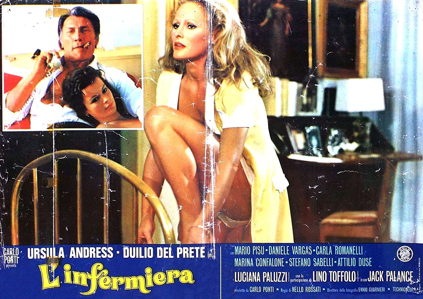 Image result for Ursula Andress in L'Infermiera