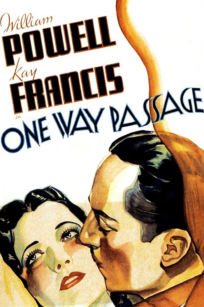 William Powell and Kay Francis in One Way Passage (1932)