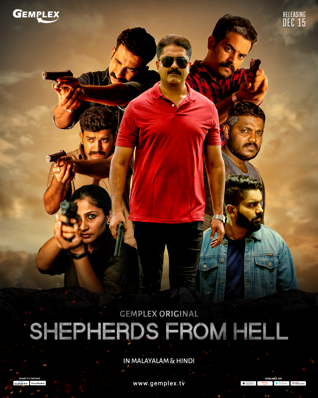 Shepherds From Hell aka Z43 2020 S01 Dual Audio Hindi Complete Gemplex Web Series 590MB HDRip Download