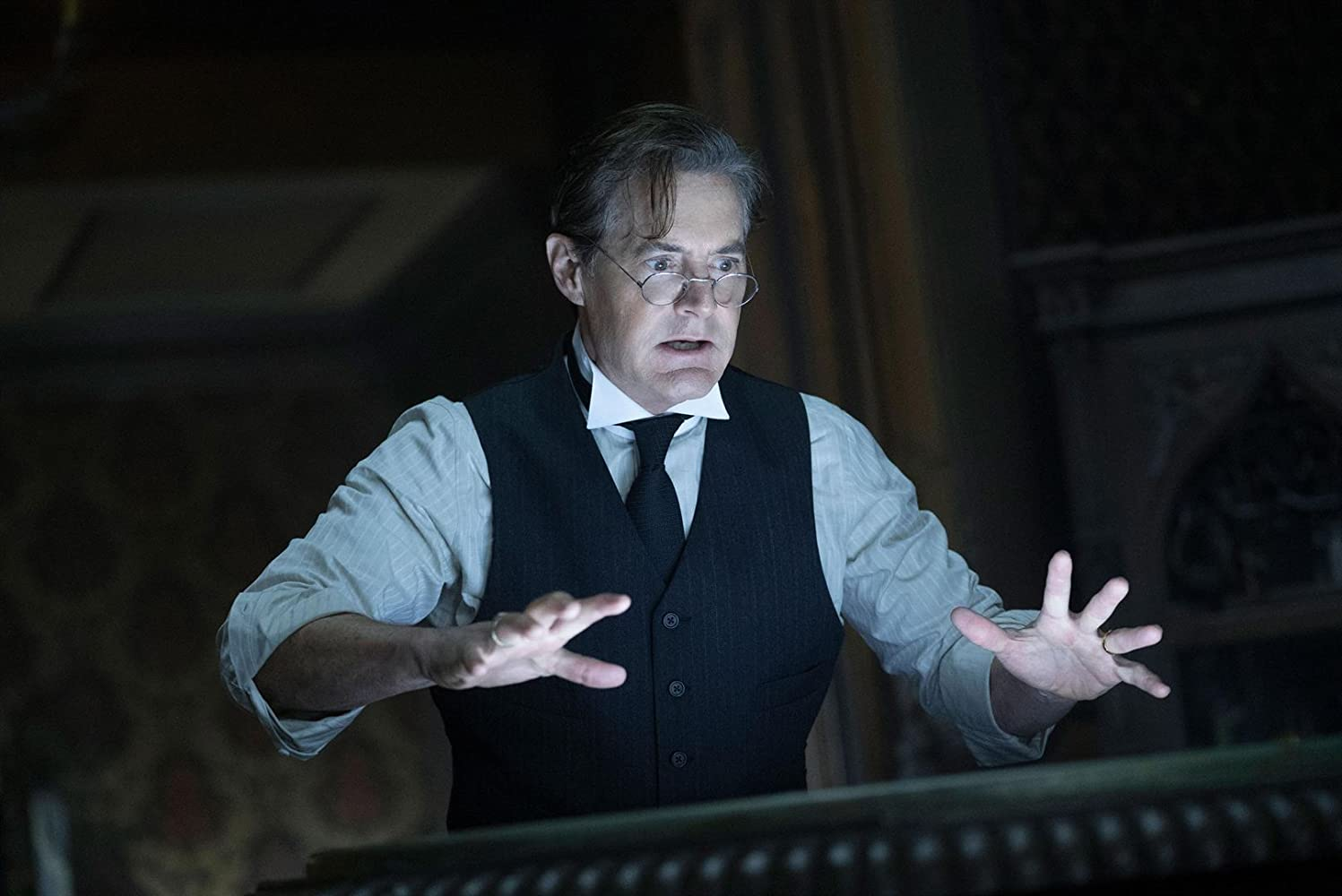 Kyle MacLachlan in The House with a Clock in Its Walls (2018)