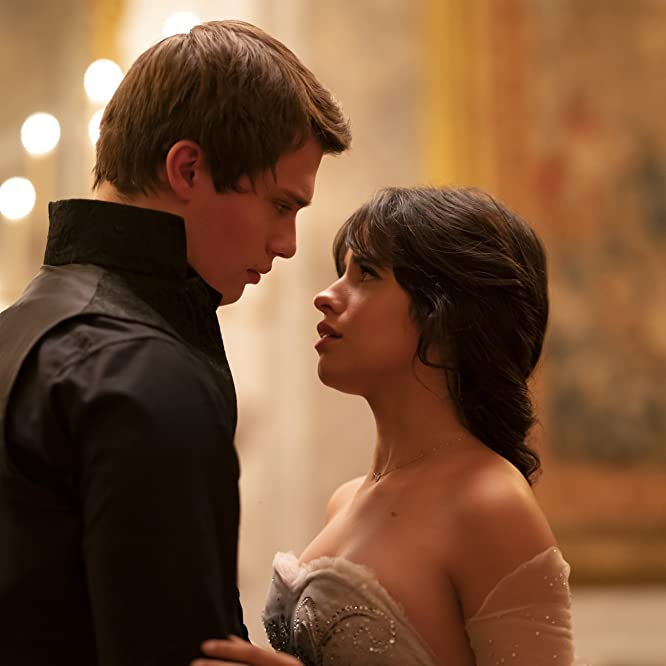 Camila Cabello and Nicholas Galitzine in Cinderella (2021)