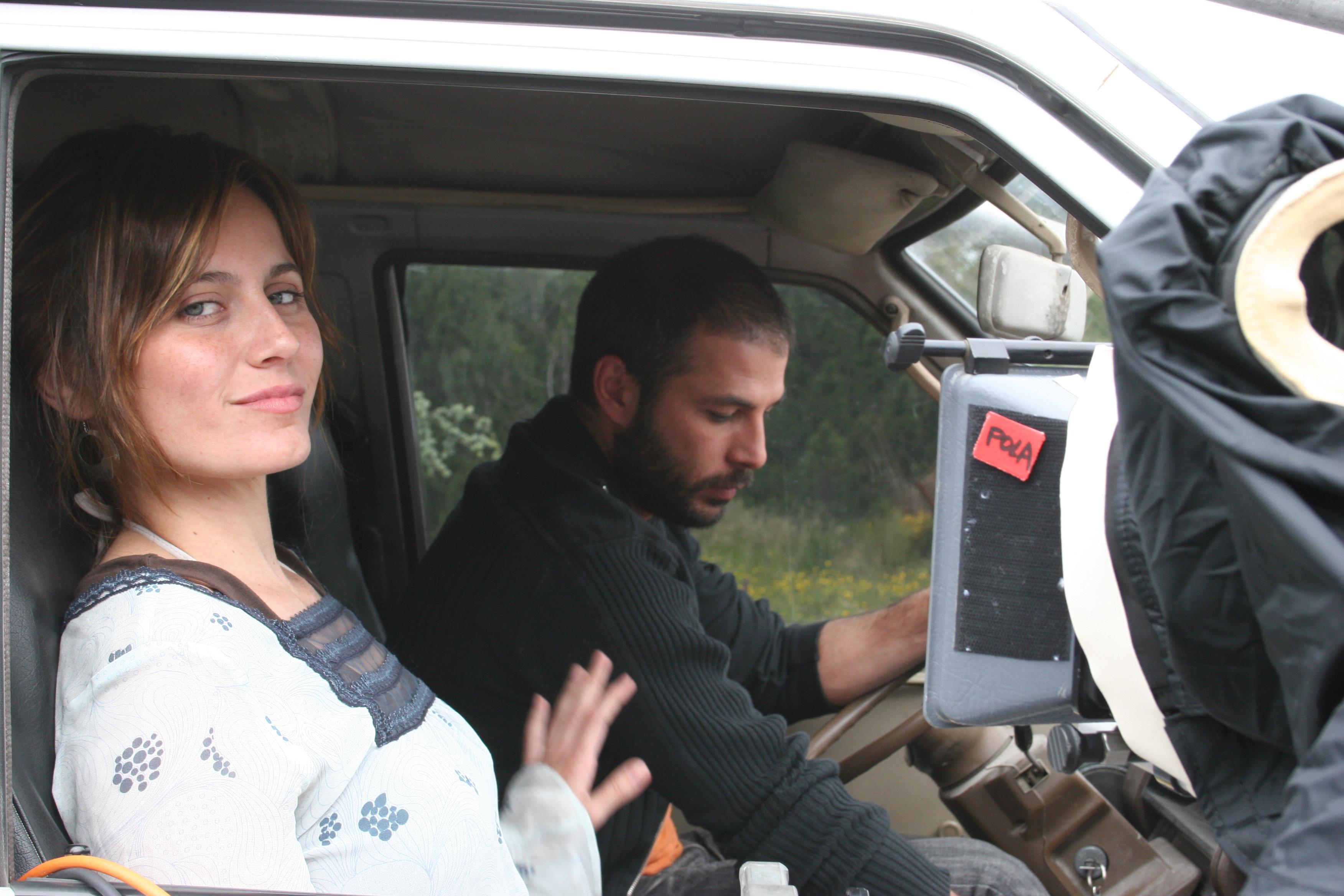 Tzeitel Rodríguez and David Bendito in Bolboreta, mariposa, papallona (2007)