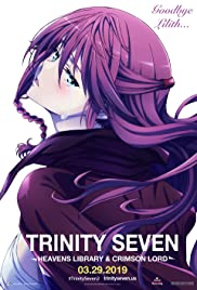 Trinity Seven The Movie 2: Heavens Library & Crimson Lord Poster