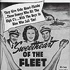 Joan Davis, Jinx Falkenburg, Robert Kellard, Joan Woodbury, and William Wright in Sweetheart of the Fleet (1942)