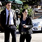 Robin Tunney and Owain Yeoman in The Mentalist (2008)