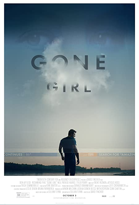 [R] Gone Girl (2014) English Blu-Ray - 480P | 720P - x264 - 400MB | 950MB - Download & Watch Online  Movie Poster - mlsbd