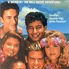 Elizabeth Berkley, Mark-Paul Gosselaar, Tiffani Thiessen, Dustin Diamond, Mario Lopez, and Lark Voorhies in Saved by the Bell: Hawaiian Style (1992)