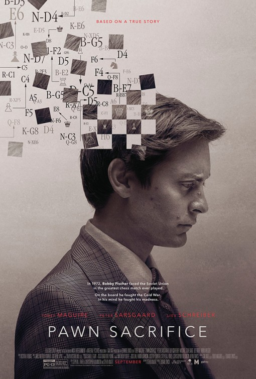 Tobey Maguire in Pawn Sacrifice (2014)