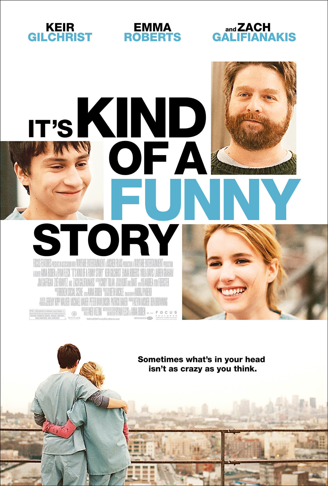 Gana juokinga istorija / It's Kind of a Funny Story (2010) Online