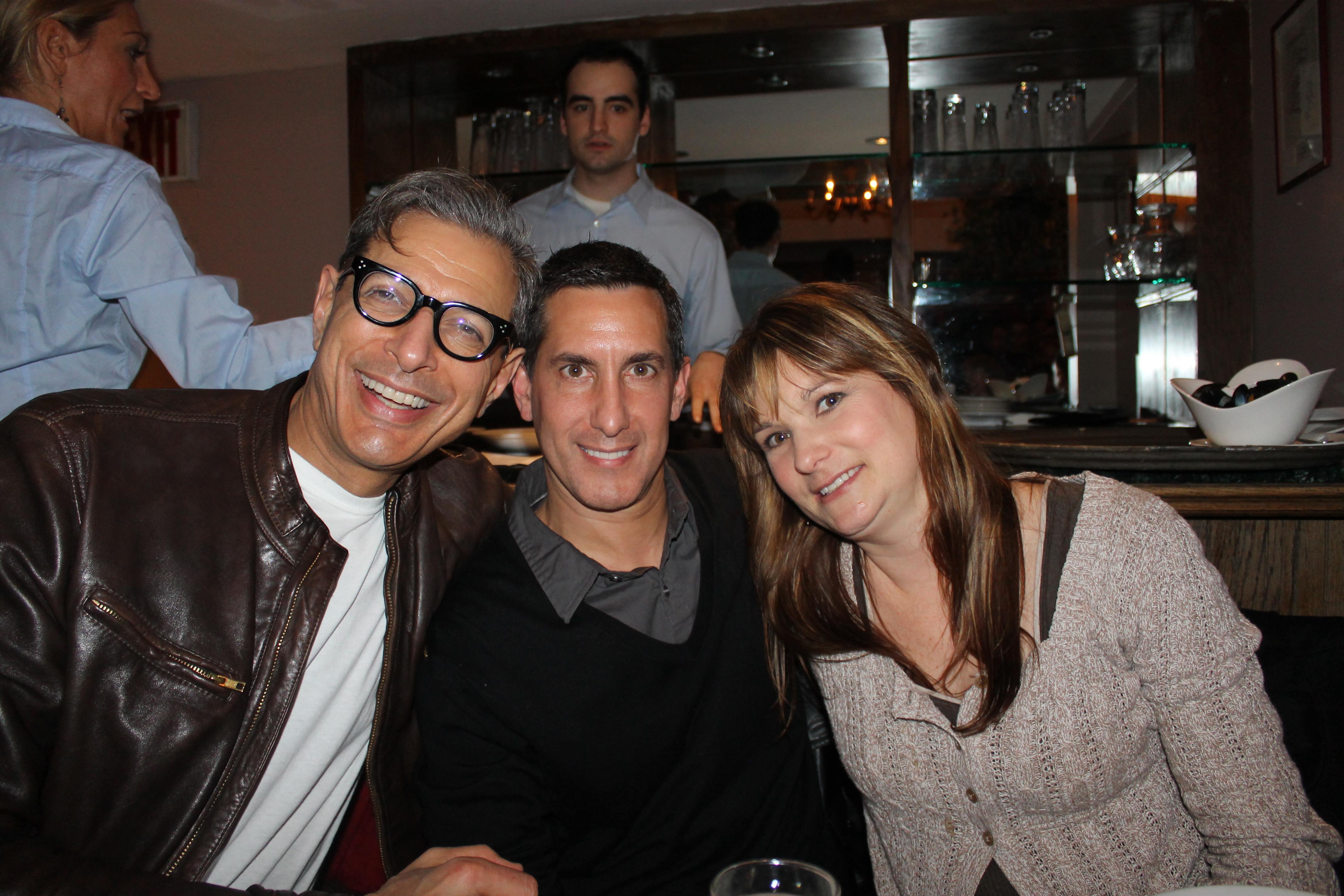 Jeff Goldblum, Tony Savant, Kim Savant