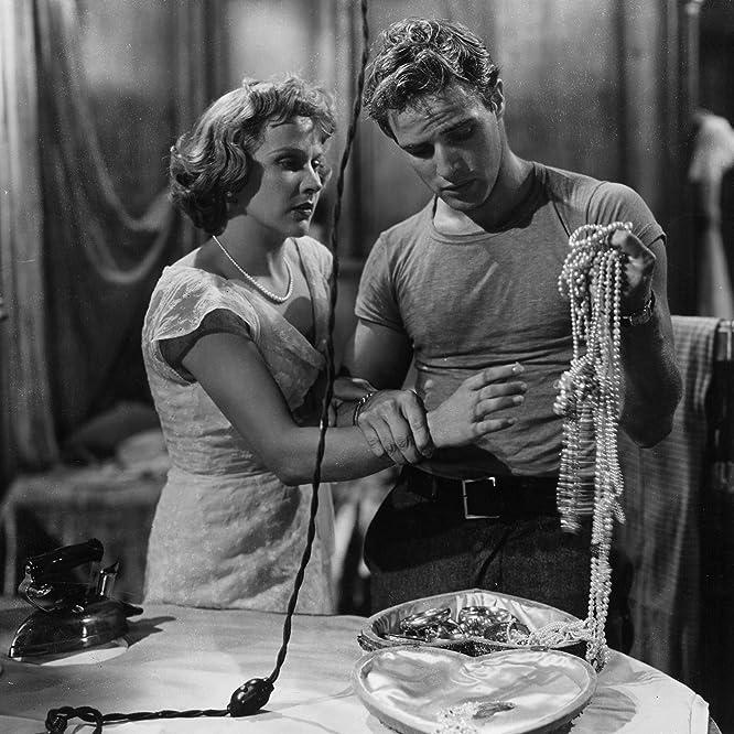 Marlon Brando and Kim Hunter in A Streetcar Named Desire (1951)