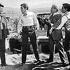 Edward Faulkner, Jack Kruschen, Perry Lopez, and Patrick Wayne in McLintock! (1963)