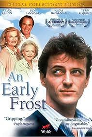Ben Gazzara, Aidan Quinn, Gena Rowlands, and Sylvia Sidney in An Early Frost (1985)