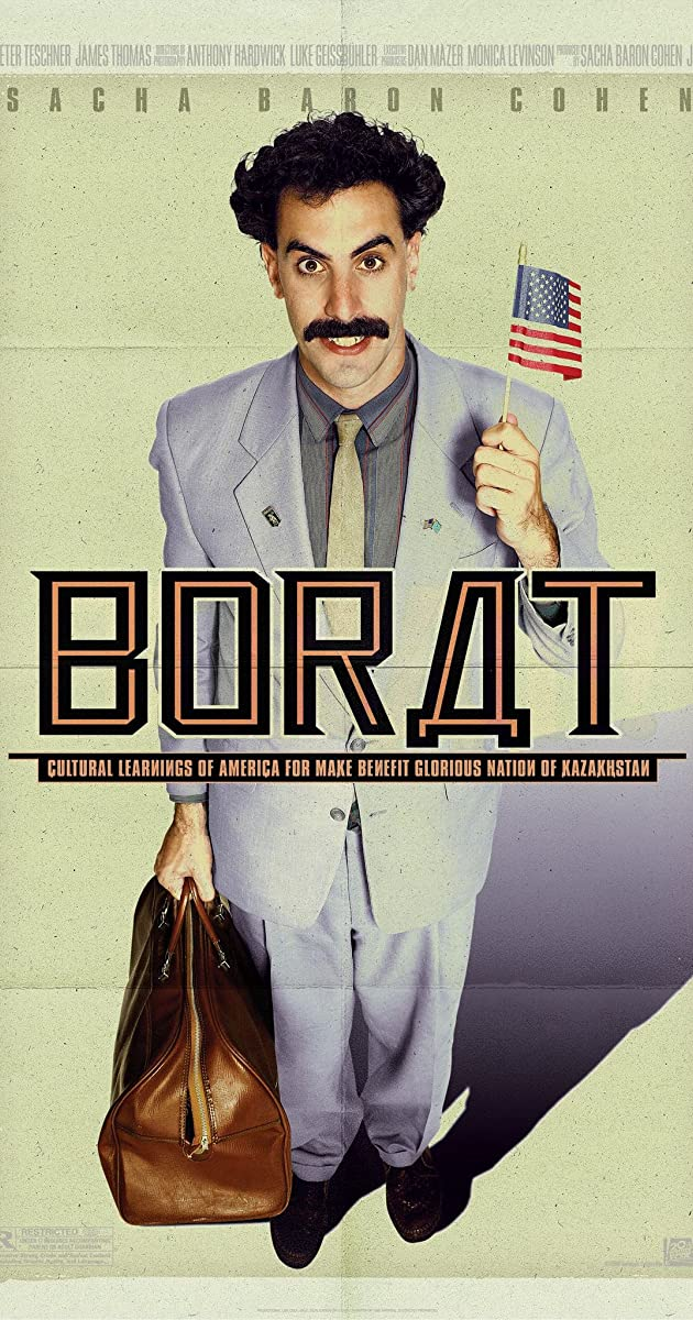 Subtitle of Borat: Cultural Learnings of America for Make Benefit Glorious Nation of Kazakhstan