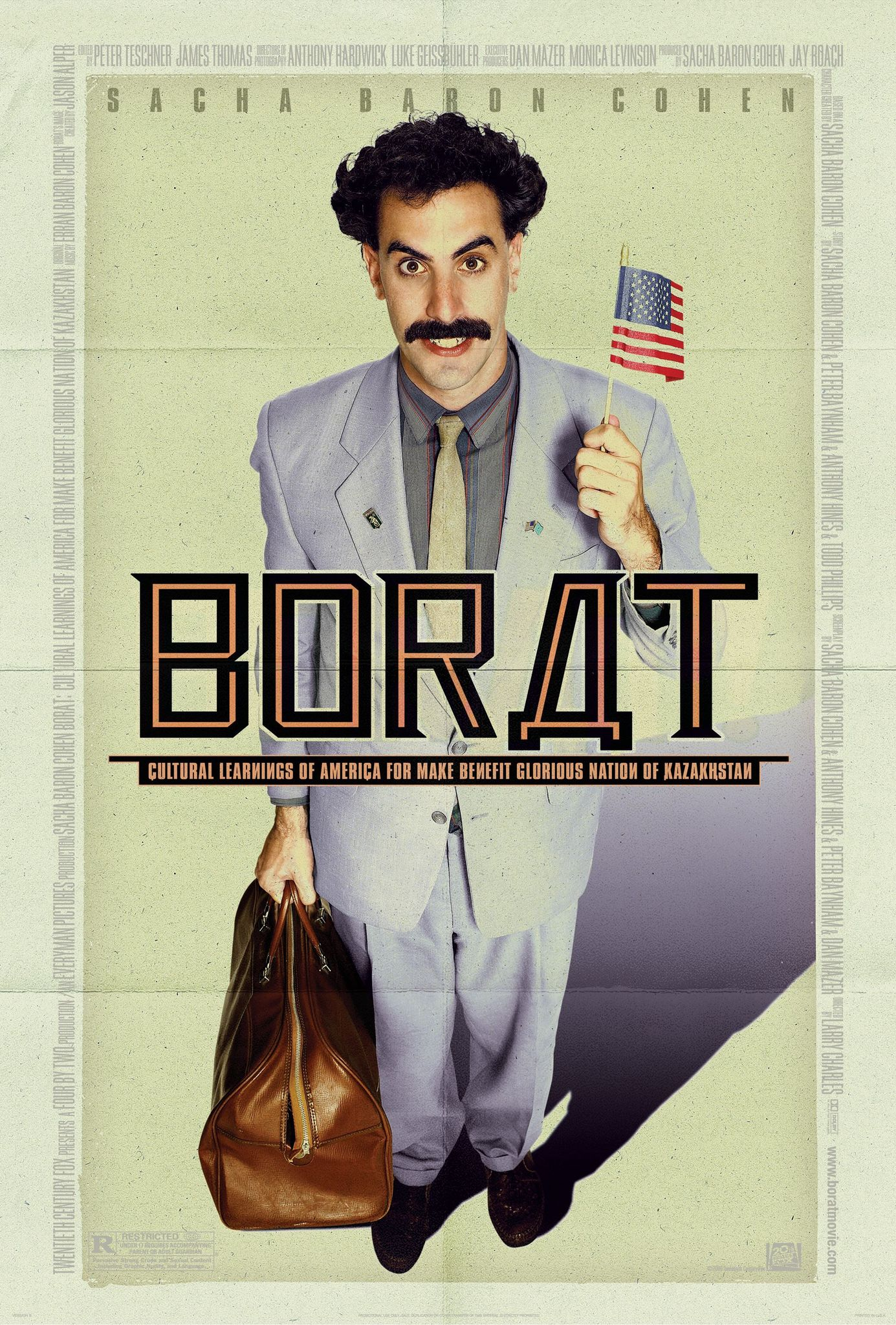 Borat: Cultural Learnings of America for Make Benefit Glorious Nation of Kazakhstan (2006) BluRay 720p & 1080p