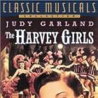 Judy Garland, Angela Lansbury, Hazel Brooks, Georgia Davis, Dona Dax, Gwen Donovan, and John Hodiak in The Harvey Girls (1946)