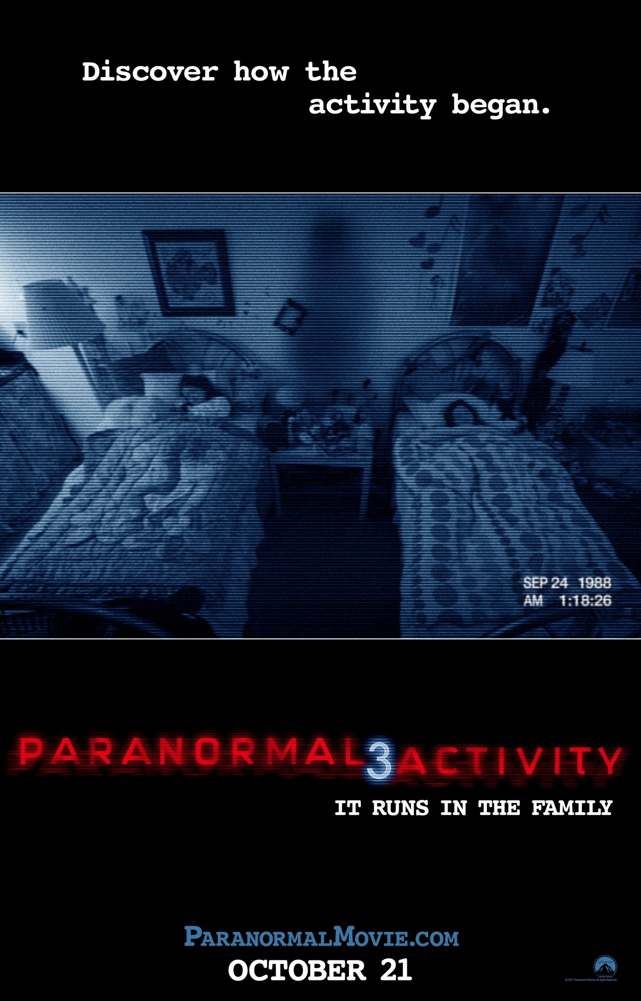 Paranormal Activity 3 (2011) Dual Audio Hindi-English x264 Esubs Bluray 480p [302.84 MB] | 720p [716.47 MB] mkv
