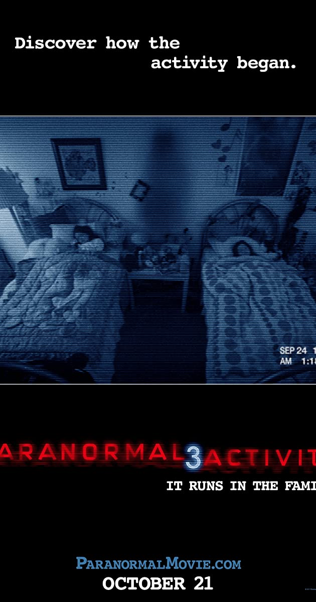 Subtitle of Paranormal Activity 3