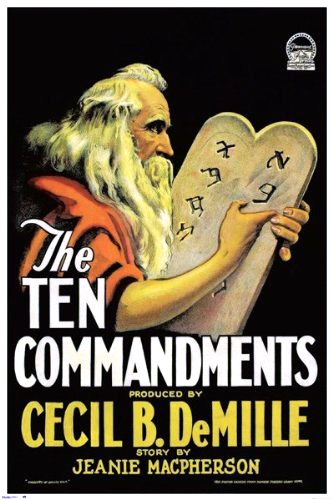 The Ten Commandments (1923)