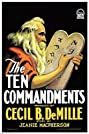 The Ten Commandments (1923) Poster