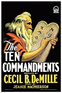 Adult dvd movie downloads The Ten Commandments [SATRip]