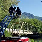 """Capturing a picturesque vista with a crane shot."" (Cinematographer Victor Lou, Asst. Cameraman Mark Anderson)"