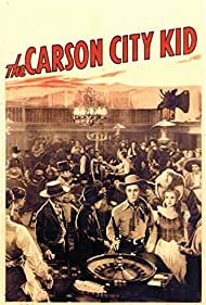 Roy Rogers and Pauline Moore in The Carson City Kid (1940)