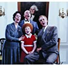 Albert Finney, Edward Herrmann, Lois De Banzie, and Aileen Quinn in Annie (1982)