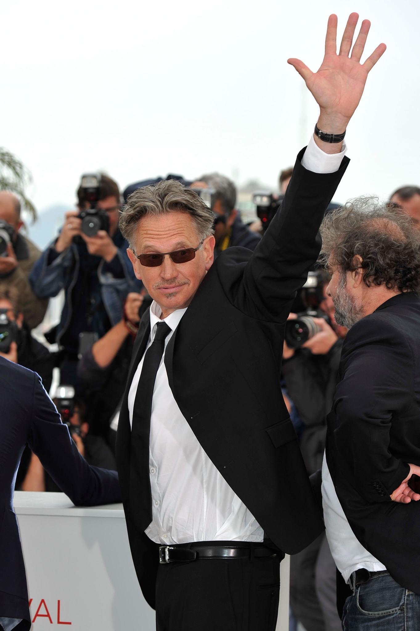Benoît Delépine at an event for Le grand soir (2012)