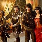 Natalie Portman, Zooey Deschanel, James Franco, and Danny McBride in Your Highness (2011)
