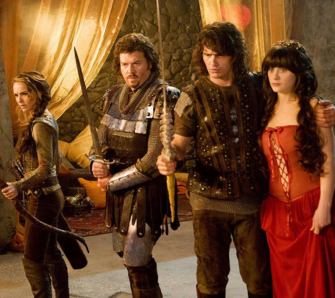 Natalie Portman, Zooey Deschanel, James Franco, and Danny McBride in Your Highness (2011)