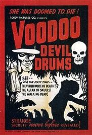 Voodoo Devil Drums Poster