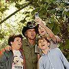 Owen Wilson, David Dorfman, Troy Gentile, and Nate Hartley in Drillbit Taylor (2008)