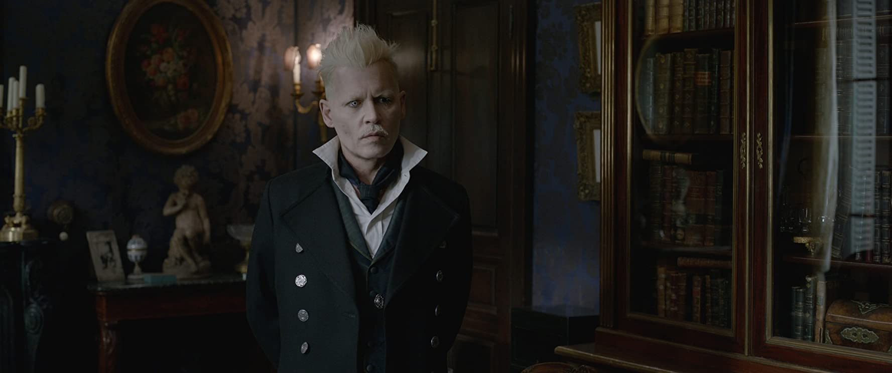 Johnny Depp in Fantastic Beasts: The Crimes of Grindelwald (2018)