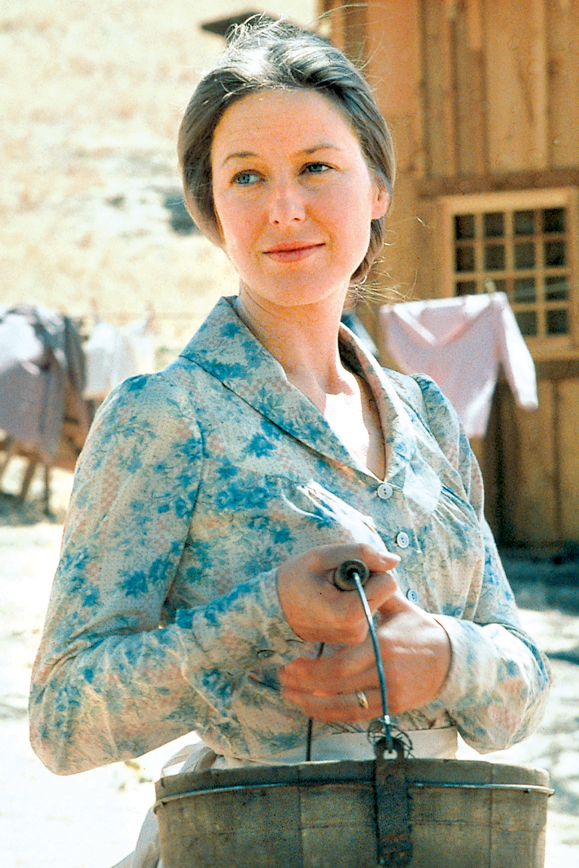 Karen Grassle in Little House on the Prairie (1974)