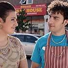 Georgia Groome plays Katie Papadopoulos