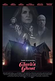 Haley Joel Osment, Chris Elliott, Abby Elliott, Bridey Elliott, Paula Niedert Elliott, and Isidora Goreshter in Clara's Ghost (2018)