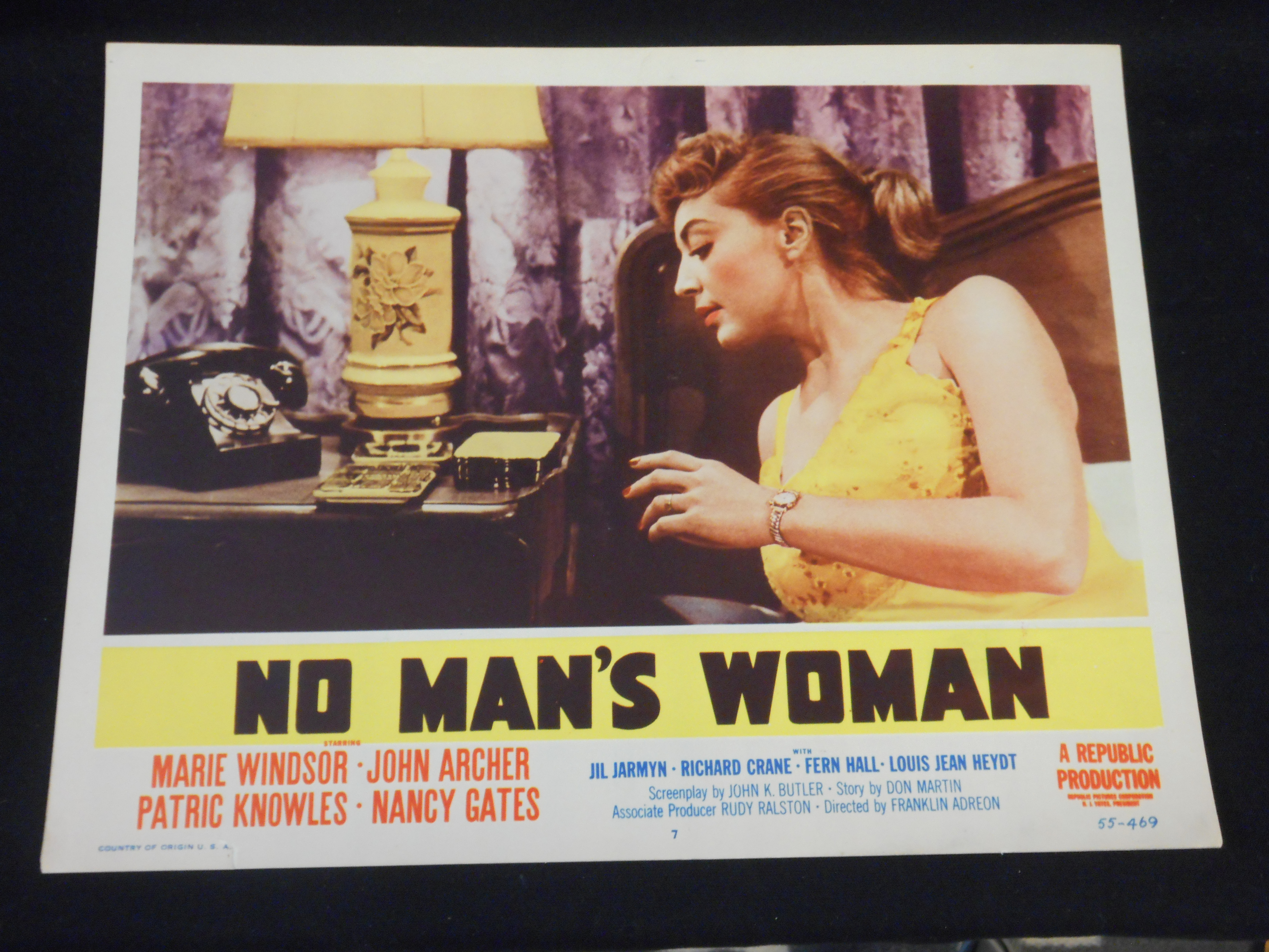 Marie Windsor in No Man's Woman (1955)