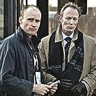 Lars Mikkelsen and Frederik Meldal Nørgaard in Den som dræber - Fortidens skygge (2011)