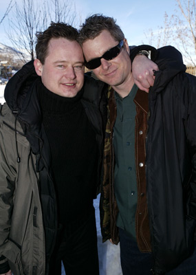 Jeff Renfroe and Marteinn Thorsson at an event for One Point O (2004)