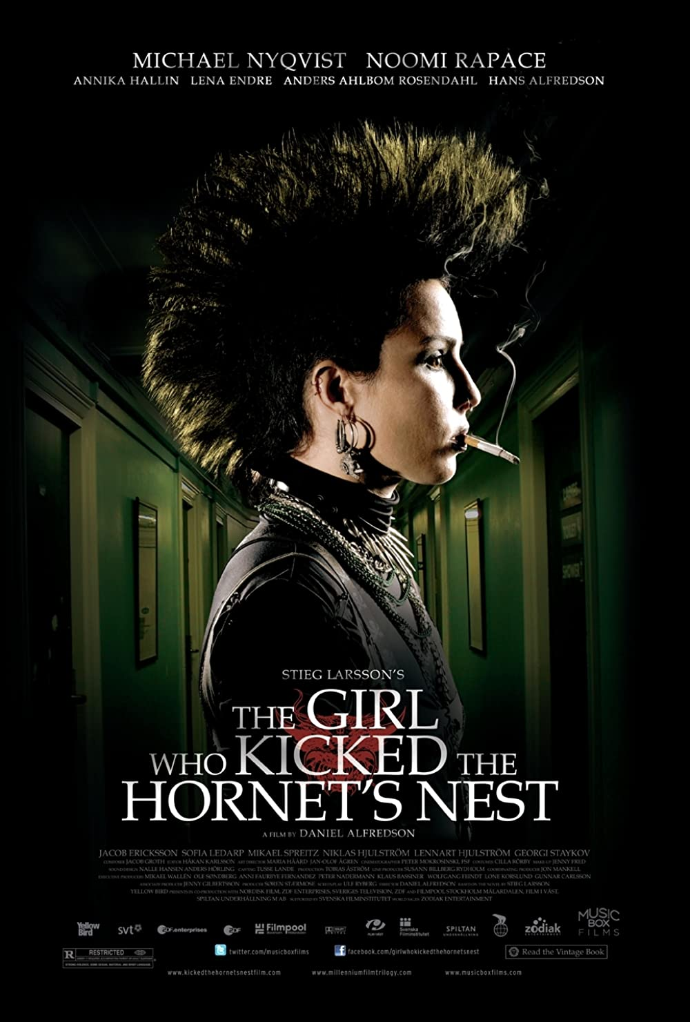 The Girl Who Kicked the Hornet's Nest 2009 Hindi Dual Audio 720p BluRay 1.4GB Download