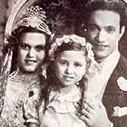 Mohamed Abdel Wahab, Faten Hamamah, and Samiha Samih in Yom said (1940)