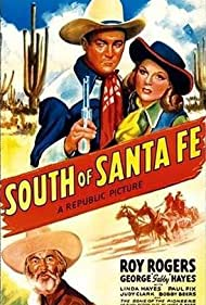 Roy Rogers, George 'Gabby' Hayes, and Linda Hayes in South of Santa Fe (1942)