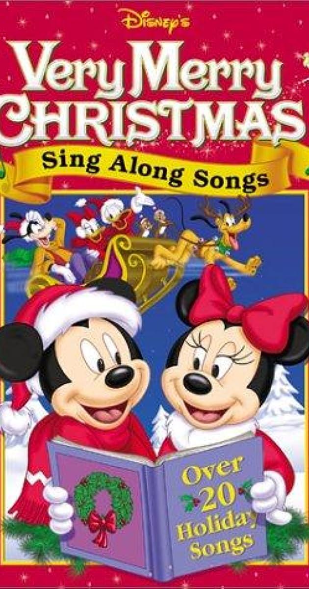 Disney Sing Along Songs Christmas Vhs.Disney Sing Along Songs Very Merry Christmas Songs Video