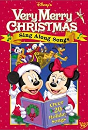 Disney Sing Along Songs Very Merry Christmas Poster